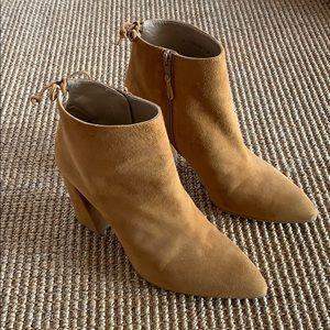 Stuart Weitzman Grandiose Pointed Toe ankle bootie